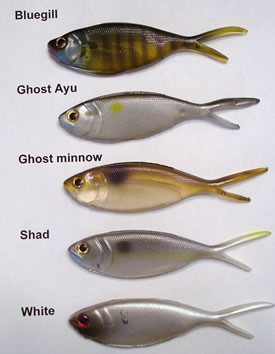 Black Dog - Shimmy Shad - 3 Pack